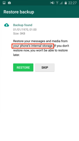 whatsapp google drive backup disable