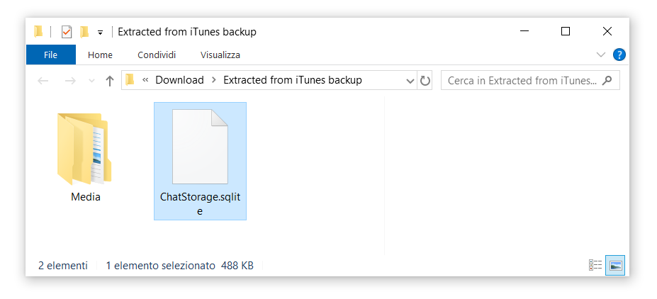 WazzapMigrator Extractor - a free one-click iTunes backup extractor