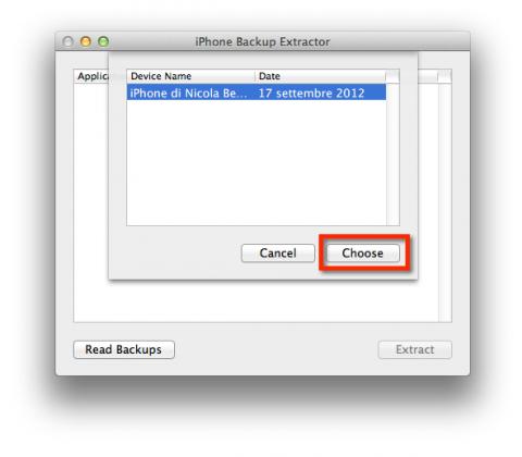 Extract ChatStorage.sqlite on Mac - Step 2