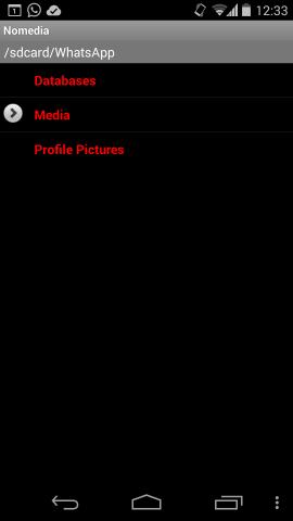 Nomedia hide Whatsapp Media folder